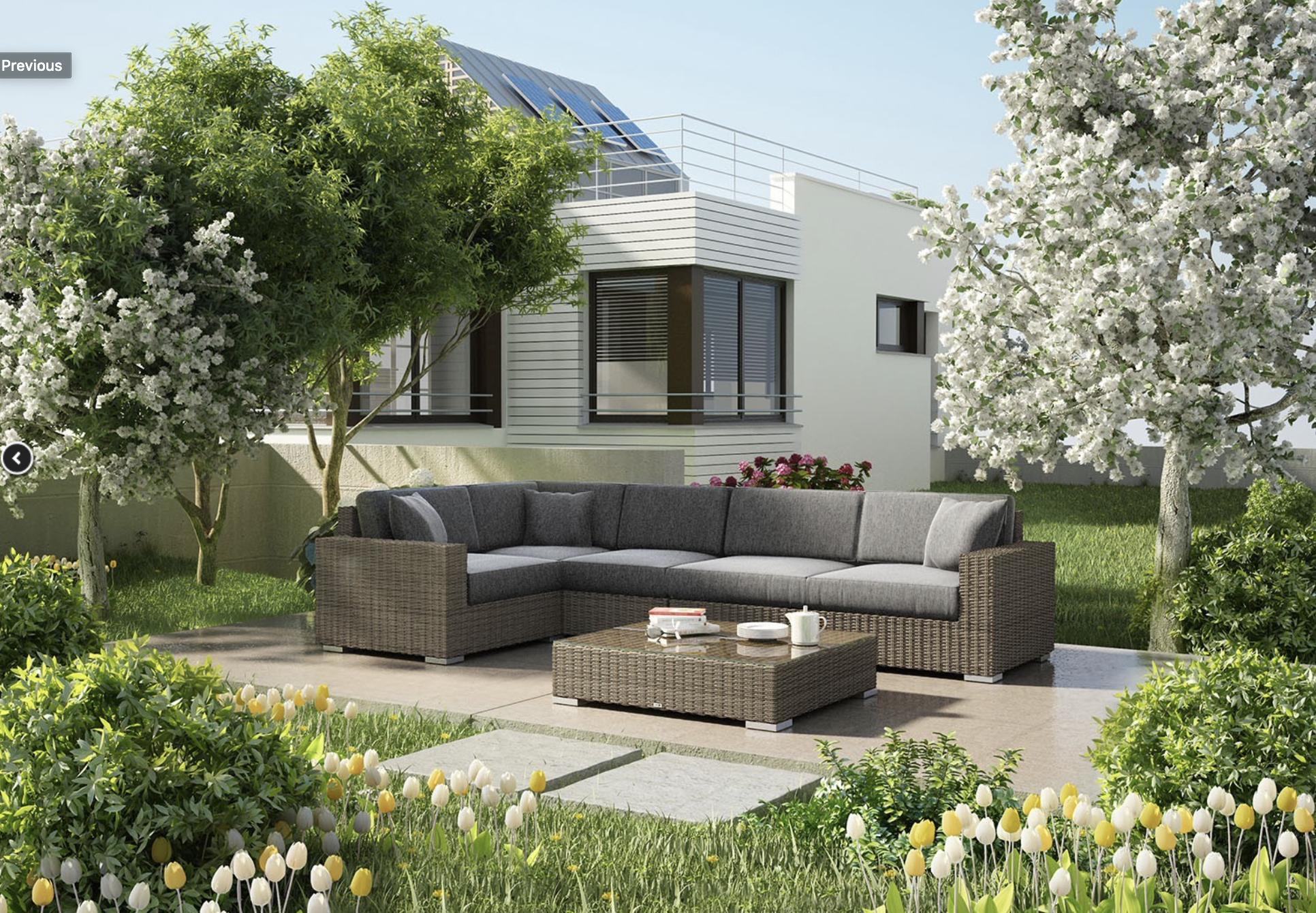 Wymarzony ogród – rodzaje mebli ogrodowych