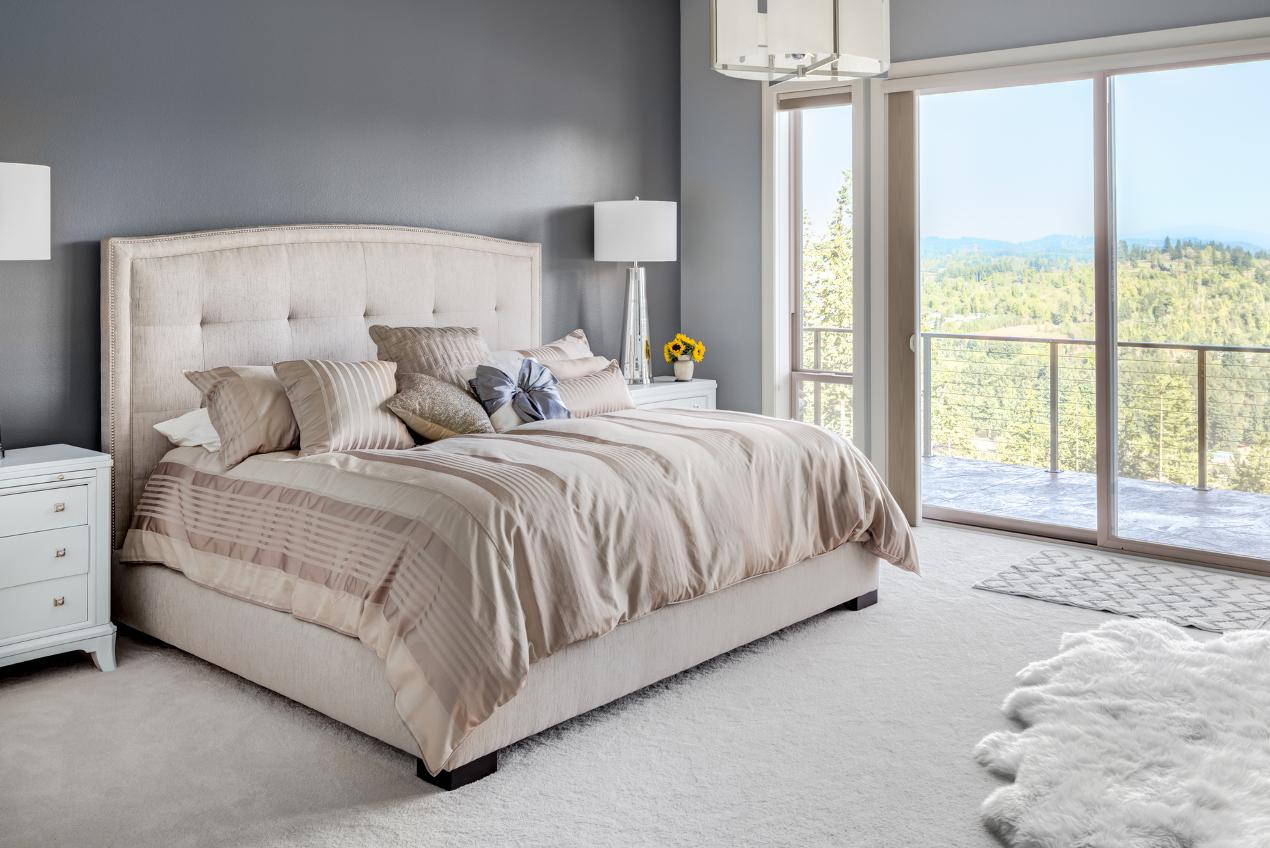 Jak estetycznie zaścielić łóżko kontynentalne?
