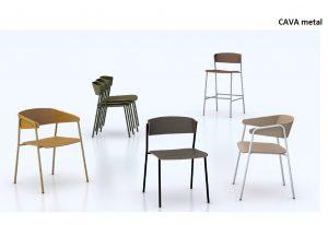 Designerskie krzesło nowoczesne DOMA