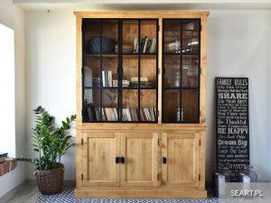 Drewniane witryny – funkcjonalne przechowywanie i estetyka